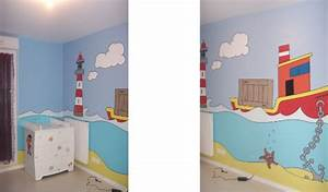 decoration peinture chambre fille With déco chambre bébé pas cher avec porte clé fleur de lys