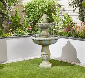 classical, springs, easy, fountain, garden, water, feature