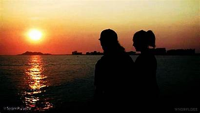 Couple Vacation Beach Imagine Hanbin