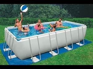 piscina fuoriterra intex rettangolare metal ultra frame With piscine intex ultra frame rectangulaire