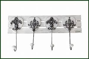 Garderobe Vintage Weiß : wandgarderobe vintage wei hakenleiste garderobe holz wohnen dekoration wandgarderoben und haken ~ Sanjose-hotels-ca.com Haus und Dekorationen