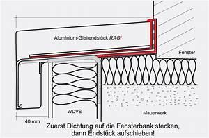 Alu Fensterbank Einbauen : wdvs w rmed mmverbundsystem aluminium fensterbanksystem rag ~ Frokenaadalensverden.com Haus und Dekorationen