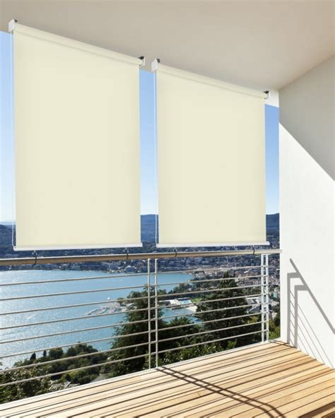 BalkonSichtschutz BalkonMarkise BalkonWindschutz Rollo