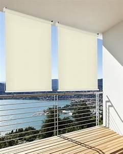 Balkon sichtschutz balkon markise balkon windschutz rollo for Garten planen mit markise balkon