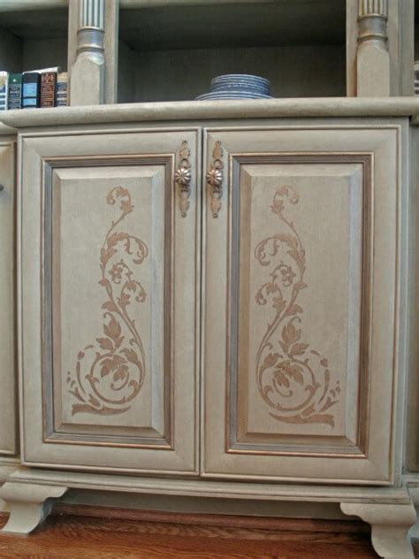 faux painted kitchen cabinets atlanta cabinet refinishing faux finishes for kitchen 7182