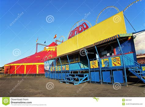 traveling circus royalty  stock photography image