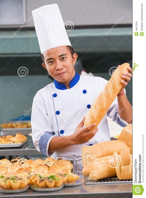 cuisine boulanger chef ou boulanger image stock image 14077231