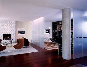 25 nifty space saving room dividers for the living room for Room divider for living room