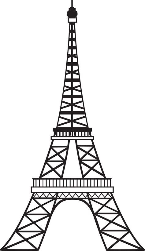 Eiffel Tower Cartoon Drawing Wwwimgkidcom The Image