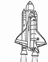 Rocket Ship Drawing Coloring Sketch Spaceship Transportation Getdrawings Sketches sketch template