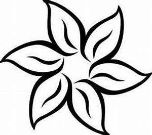 Black And White Flower Border Clipart - Clipart Suggest