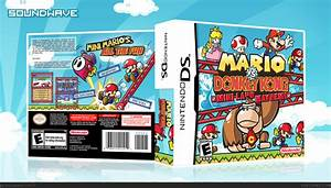 Mario Vs Donkey Kong Mini Land Mayhem Nintendo Ds Box