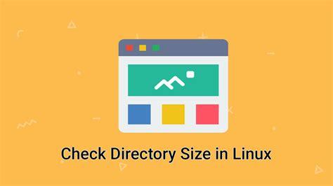 find directory size  ubuntu  debian