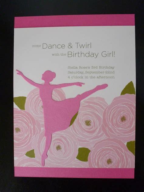 Ballerina  Ee  Birthday Ee   Party Project Nursery