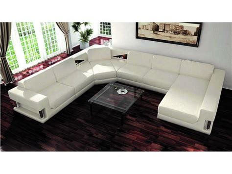 furniture best u shaped sectional couch with ottoman
