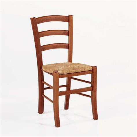chaise rustique chaise rustique en bois et paille brocéliande 4 pieds