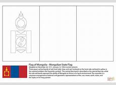 Flag of Mongolia coloring page Free Printable Coloring Pages
