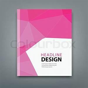 Modern brochure cover design background, professional book ...