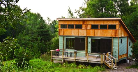 traverse city cabins northern michigan cabins new green prefab in traverse