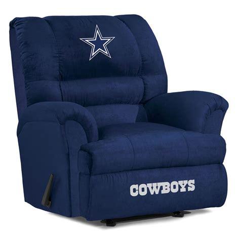 dallas cowboys big recliner