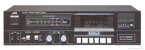 jvc kd v100 manual stereo cassette deck hifi engine