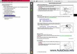 Nissan Navara D40 Series Service Manual Repair Manual
