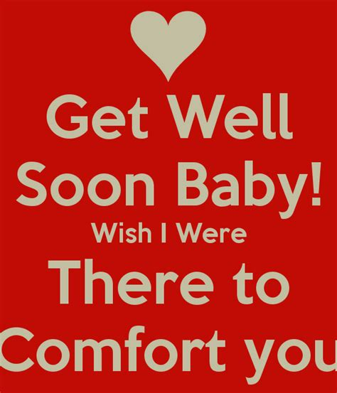 Get Well Soon Baby Quotes