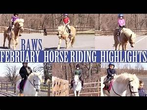 February Horse Riding Highlights - YouTube