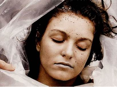 Dead Laura Palmer Wrapped Plastic Found She