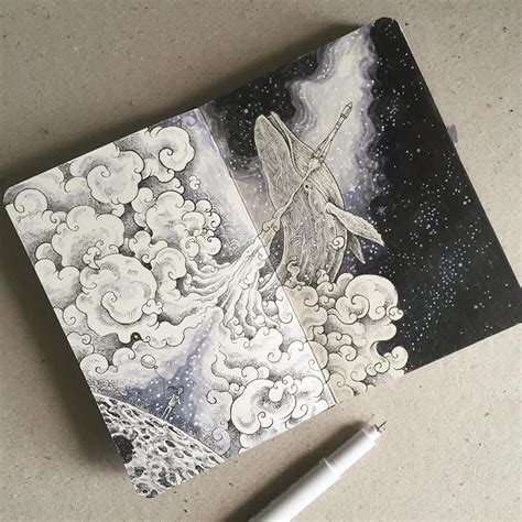 15+ Beautiful Sketchbooks Are Mobile Galleries of Stunning ...
