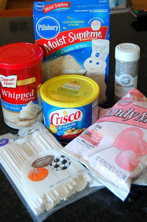 ingredients to make a cake diy cake pop recipe