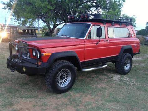 jeep cherokee chief xj 1976 jeep cherokee chief amc 401 v8 weakness pinterest