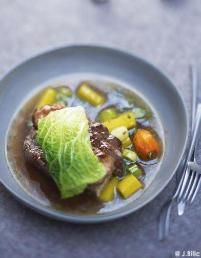 pot au feu au chou pot au feu et foie gras en feuille de chou pour 6 personnes recettes 224 table