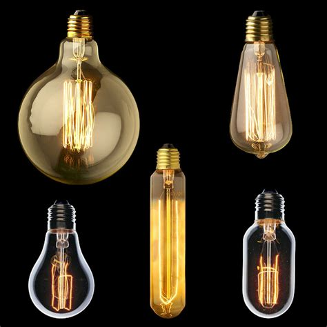 fashioned light bulbs for creating captivating vintage