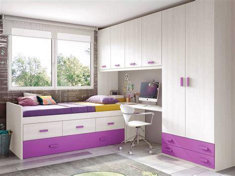 chambre ado chambre de fille ado sympa avec lit gigogne glicerio