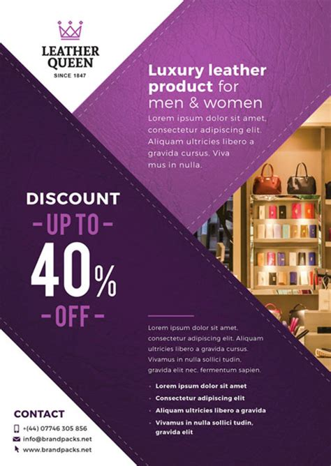 business shop poster template   photoshop
