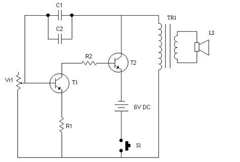 Electronic Bell Circuit Diagram by Clack Clack Electronic Bell Sigmatone