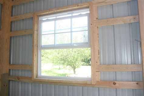 post frame pole barn window options conestoga buildings