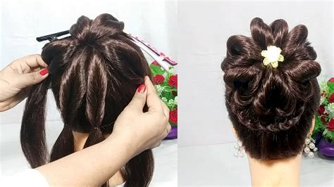 heart bun hairstyles with trick wedding hairstyle hair