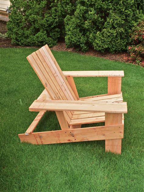 wood work easy adirondack chair plan  plans