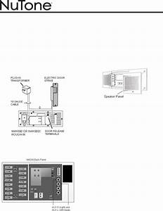 Download Nutone Intercom System Nm200wh Manual And User