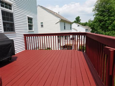 deck sherwin williams superdeck applied to your home