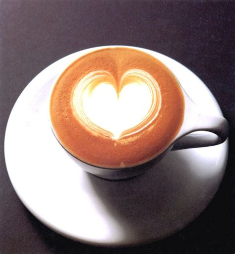 The latte art heart is a basic coffee design that forms the foundations for many advanced latte art techniques. Latte Art with Ogawa Coffee Boston - The Boston Day Book