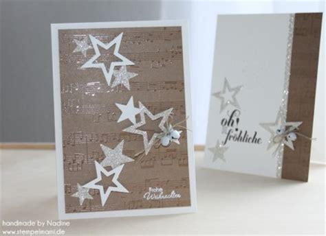 edle weihnachtskarten basteln adventskalender 12 t 252 r basteln mit stin up