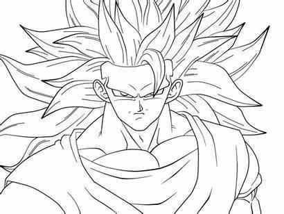 Goku Dibujos Colorear Coloring