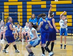 Onekama Middle School Girls' Basketball 2010-2011