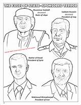 Coloring Faces Never Forget Terror Global Shall Books Graphic Evil Novel Ahmadinejad True Detail Terrorism Whores Muslim Coloringbook Most sketch template
