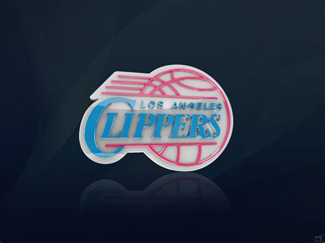 los angeles clippers  logo wallpaper basketball