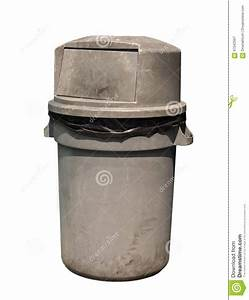 Dirty, Garbage, Can, Stock, Image, Image, Of, Garbage, Handle