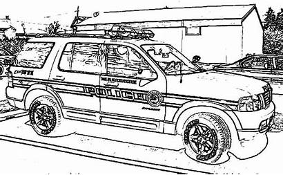 Coloring Police Pages Dodge Charger Colouring Lego